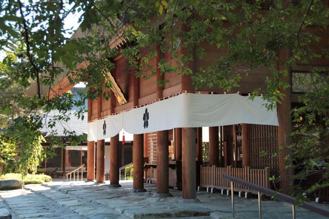 櫻木神社 拝殿