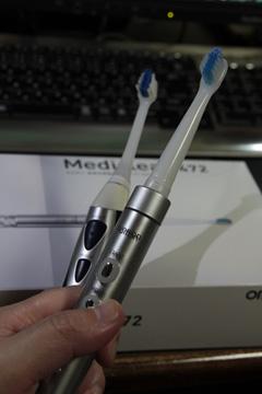 電動歯ブラシはアメリカのかほり