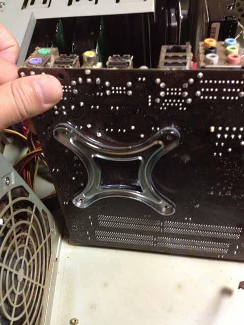 AINEX製 LGA用バックプレート リテールクーラー用 BS-775