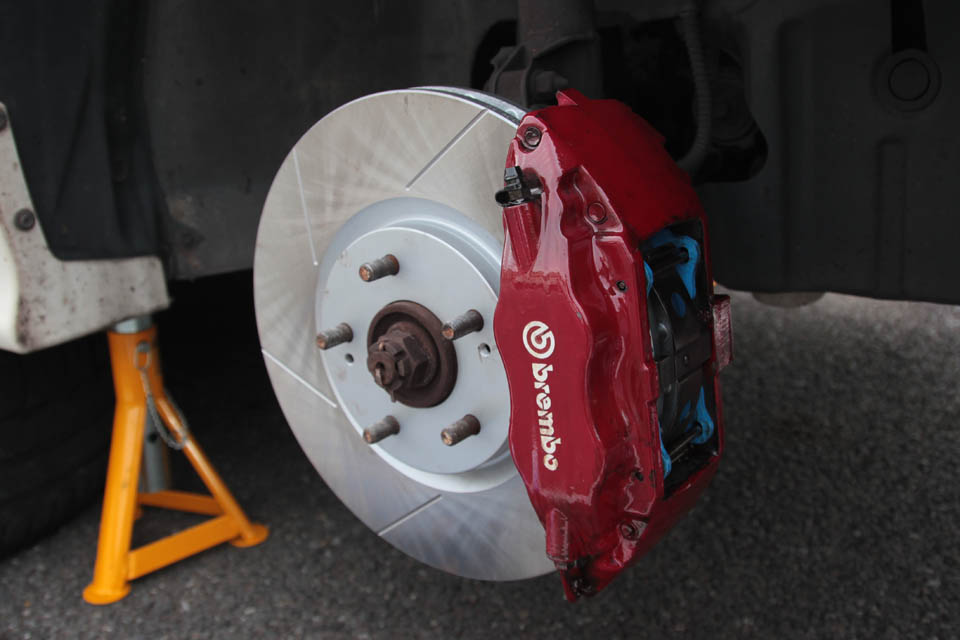 BremboキャリバーAfter