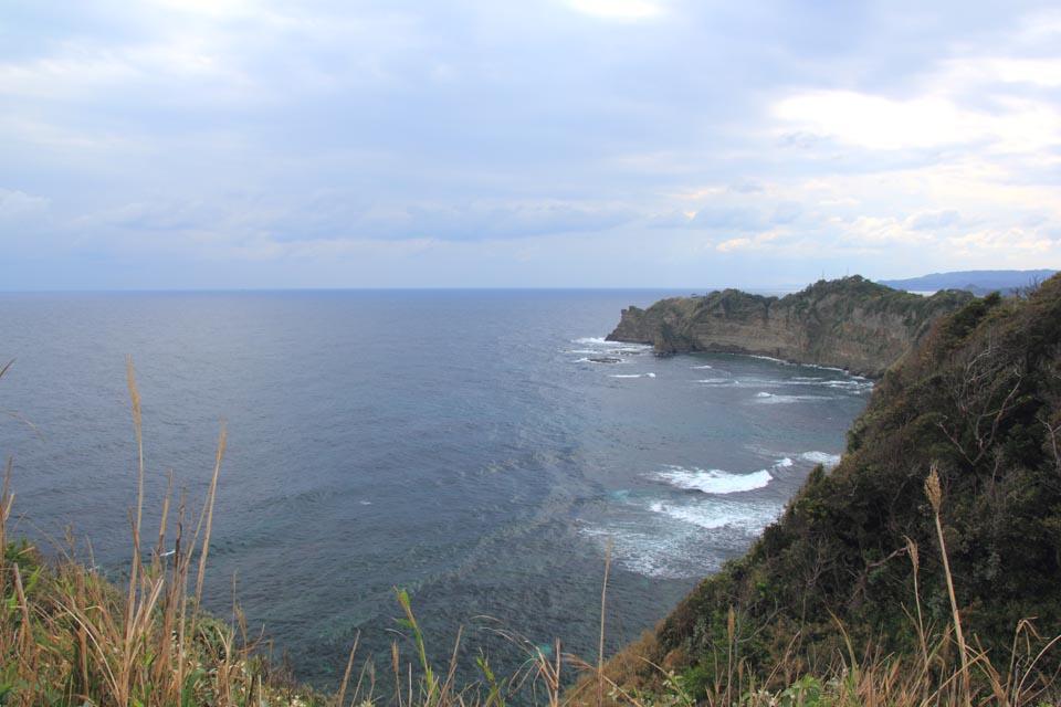 勝浦灯台から望洋