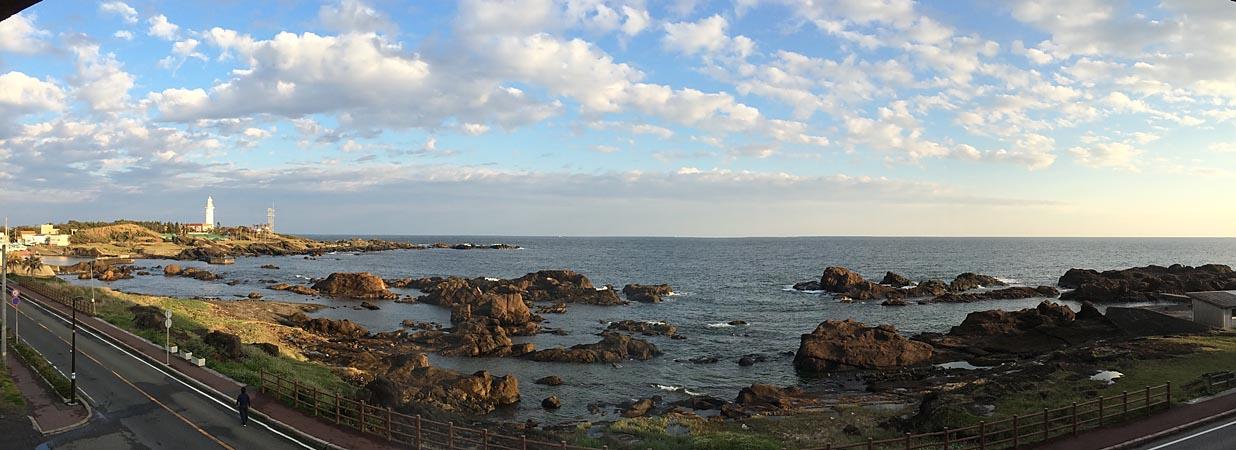 野島埼 宿からの眺望