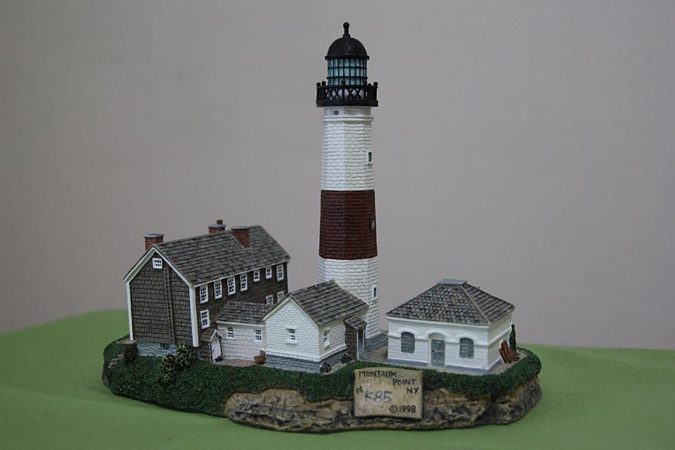 モントーク岬灯台 模型